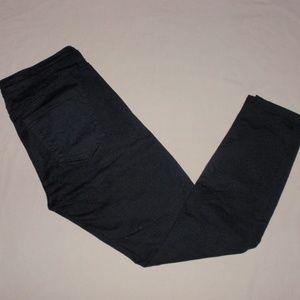 Gap Jegging Jean Pants Skinny Black 28 S Short